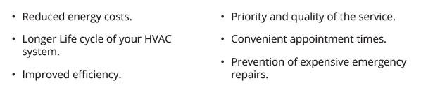 pm reasons 1 - PREVENTATIVE HVAC MAINTENANCE
